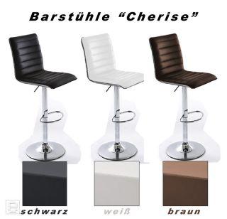 NEU* 2erSet Barhocker Lederoptik black Barstuhl verstellbar Bar