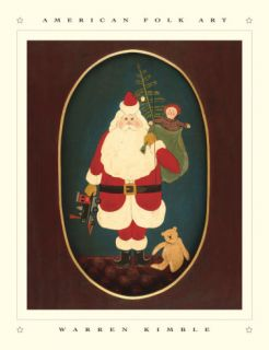Santa with Toys Prints by Warren Kimble