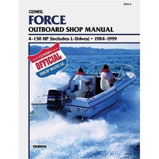 Force Outboard Shop Manual 4 150 HP (Includes L Drives), 1984 1999