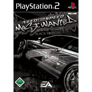 Need for Speed Most Wanted   Black Edition Playstation 2