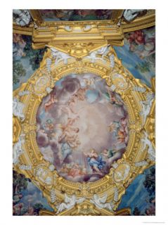 The Sala Di Apollo Giclee Print by Pietro Da Cortona