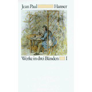 Werke in drei Bänden Jean Paul Bücher