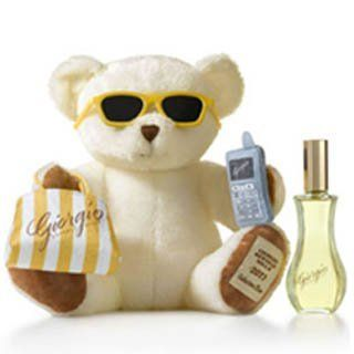 Giorgio Beverly Hills Giorgio Yellow Geschenkset 90ml EDT + Teddy Bear