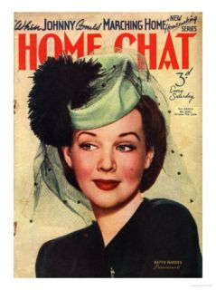 Home Chat, Hats Magazine, UK, 1940 Posters