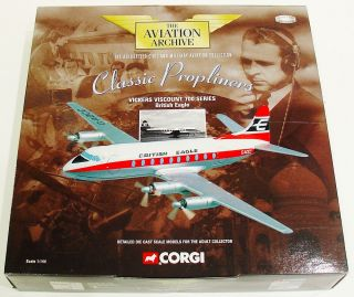 Corgi Vickers Viscount 700 series British Eagle 47605 1/144 Very nice!