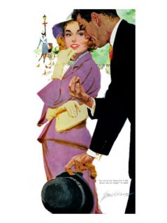Young and Pampered   Saturday Evening Post Leading Ladies, January 3, 1959 pg.31 Giclee Print by Lynn Buckham