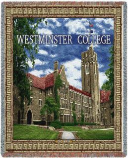 Westminster College, Old Main Throw Blanket