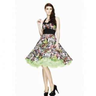 Hell Bunny B MOVIE 50S DRESS 4141 black multi Bekleidung