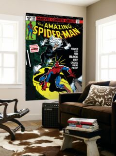 Amazing Spider Man #194 Cover: Spider Man and Black Cat Wall Mural by Al Milgrom