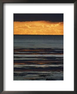 The sun sets over the Pacific Ocean off Shell Beach Posters by Marc Moritsch