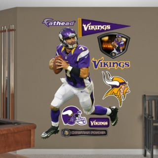 Christian Ponder Wall Decal
