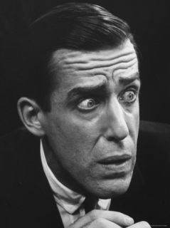 Fred Gwynne in the Broadway Musical Heres Love Based on the Movie Miracle on 34th Street Premium Photographic Print by John Dominis