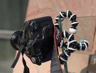 Orange Flexible Tripod Gorillapod Ball head For DV Digital video