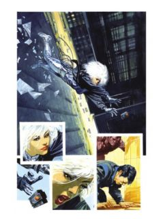 Sable & Fortune #3 Cover: Silver Sable, Fortune and Dominic Prints by John Burns