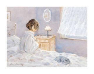 The Morning Ritual Print by Hélène Léveillée