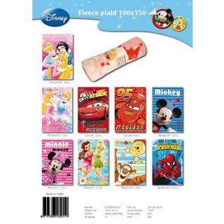 Flecedecke Plaid 100 x 150 cm Disney Princess Cinderella Kuscheldecke