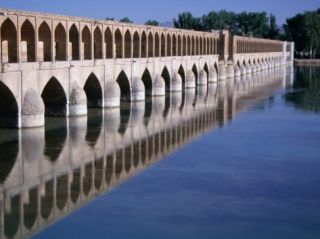 Si O Se Bridge, Bridge of 33 Archs, Esfahan, Iran Photographic Print by Simon Richmond