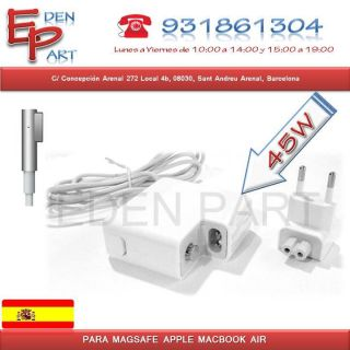 ADAPTADOR CARGADOR 14.5V 3.1A 45W 5PINCHO Apple MacBook Air A1304