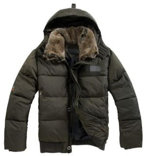 2012 New 2 Farben Herren Ski Daunenjacke Outdoor Winter Hoodie Coat
