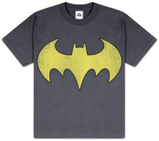 Youth: DC Comics   Batgirl   Logo Distressed T shirts
