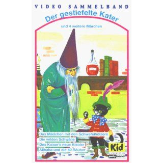 Der gestiefelte Kater und 4 weitere Märchen [VHS] Hans Christian