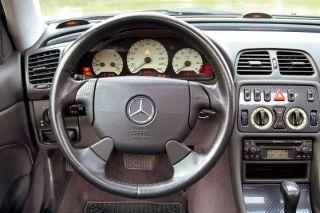 Lederlenkrad MERCEDES W202 W208 W170 CLK SLK AMG Lenkra