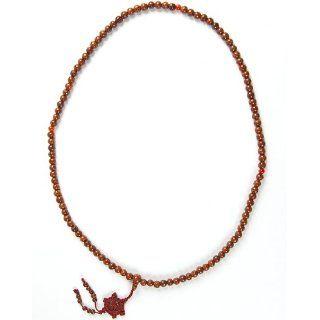 Mala Mantra Gebetskette aus 108 Bodhi Baum Samen Perlen á ca. 8mm und