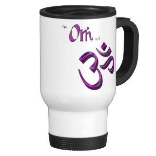 Om ish Om Symbol Aum Mug