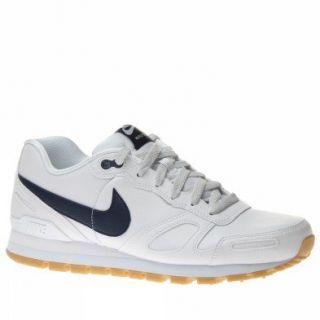 Nike Air Waffle Trainer Leather 454395 102 Herren Schuhe Weiss