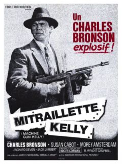 Machine Gun Kelly, French Movie Poster, 1958 Giclee Print