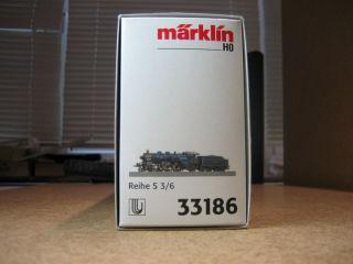 MÄRKLIN 33186 , Dampflok mit Tender, KBayStsB S 3/6 ,Delta , OVP