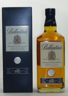 Ballantines 12 Years Aged Blended Scotch Whisky Jahre