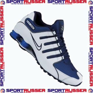 Nike Shox NZ white/blue (147)