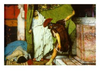 A Roman Emperor AD 41 Prints by Sir Lawrence Alma Tadema