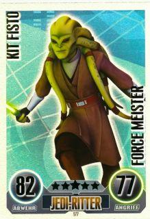 KIT FISTO Force Meister Ka. 177  Star Wars Force Attax