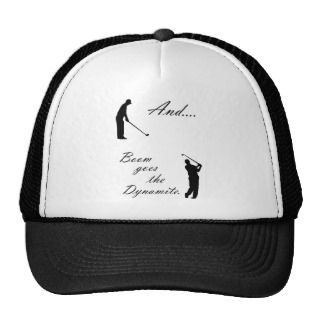 Boom Goes the Golf Dynamite Hat