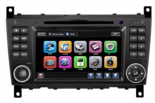 Mercedes C Klasse W203 CKL W209 Autoradio Navigation GPS DVD  USB