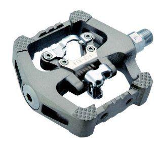 Wellgo D10 Magnesium Downhill MTB Click SPD Plattform Pedale titan