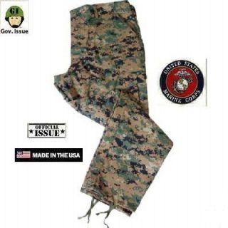 US Marines Corps USMC MARPAT Woodland Army MCCUU Tarnanzug Hose Jacke