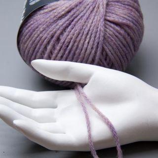 Lana Grossa Alta Moda Cocoon 003 mauve meliert 50g Wolle