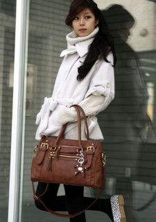 AG2185 New Fashion Faux Leather Womens Tote Shoulder Bags Handbag