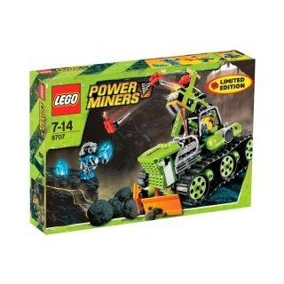 Lego Power Miners 8707   Dynamitschleuder   LIMITED EDITION