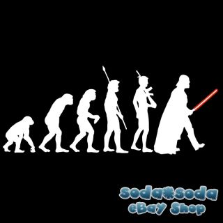 fun DARK SIDE Evolution Darth Vader T SHIRT STAR WARS M
