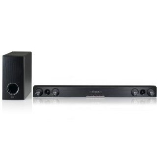 LG HLS36W 2.1 Soundbar Heimkinosystem mit Wireless Active Subwoofer