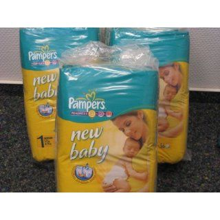 112 Pampers Windeln, New Baby, New Born, Gr.1, 2 5 kg, mit Urin