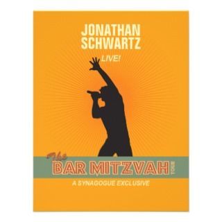 Mitzvah Invitations, 80 Rock Star Bar Mitzvah Announcements & Invites