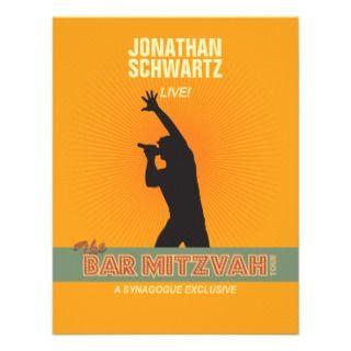 Mitzvah Invitations, 80 Rock Star Bar Mitzvah Announcements & Invites