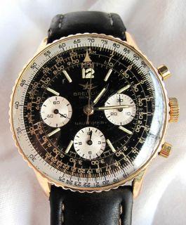 BREITLING Uhr NAVITIMER 806 Venus 178, Vintage, Stahl/Gold