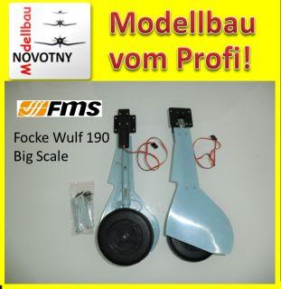 FMS FW190 Big Scale Frontfahrwerk mit E Retract System Gefedert