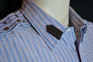 orange Label Hemd shirt chemise XL neu 189 NEW tags destroyed Armel